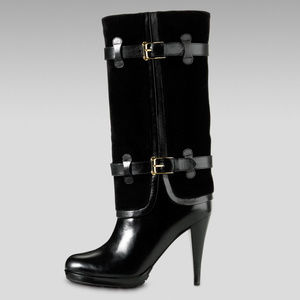 NEW Cole Haan Air Kennedy Buckle Boot Black